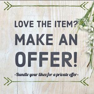 Make an Offer 🎉
